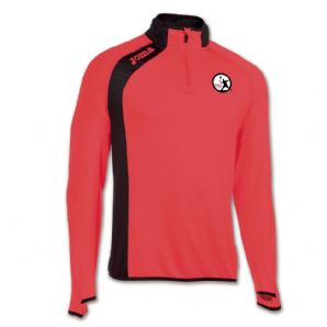 Thurles Squash Club Elite V Quarter Zip 2018 - Kids (Coral)